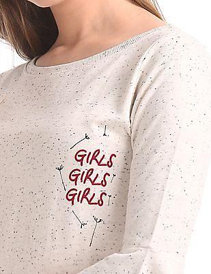 SUGR Slub Knit T-Shirt Dress