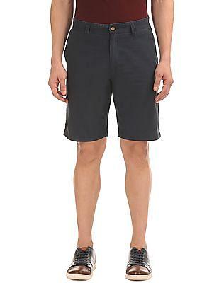 Arrow Sports Regular Fit Flat Front Shorts