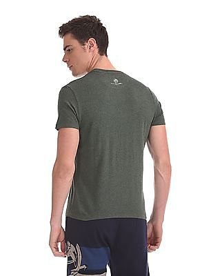 U.S. Polo Assn. Denim Co. Contrast Print Crew Neck T-Shirt