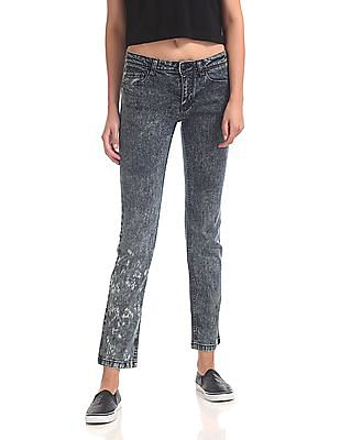 Flying Machine Women Veronica Skinny Fit Washed Jeans