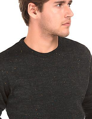 Ruggers Contrast Speckled Knit Sweater
