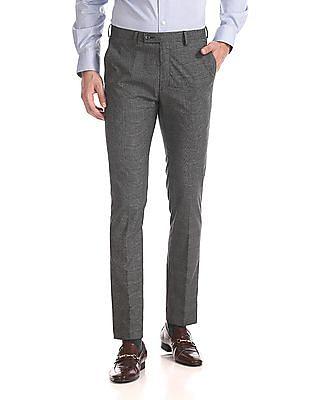 Arrow Newyork Mid Rise Super Slim Fit Trousers