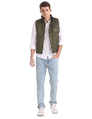 U.S. Polo Assn. Sleeveless Quilted Jacket