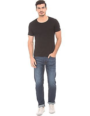 Flying Machine Slim Fit Whiskered Jeans