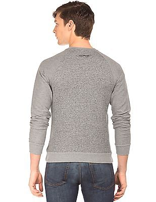 Ed Hardy Heathered Panelled Sweatshirt