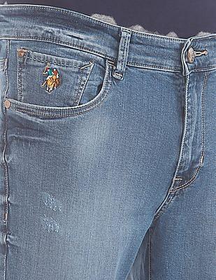 U.S. Polo Assn. Denim Co. Medium Wash Slim Tapered Fit Jeans