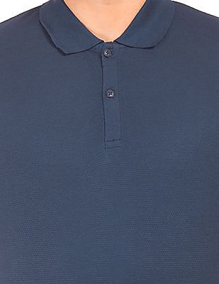 Cherokee Textured Muscle Fit Polo Shirt