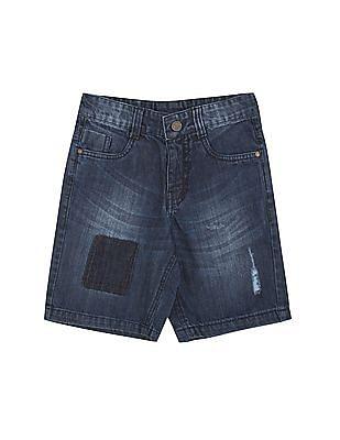 Cherokee Boys Washed Denim Shorts