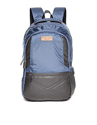 U.S. Polo Assn. Colour Block Laptop Backpack