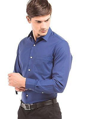 Arrow Herringbone Regular Fit Shirt