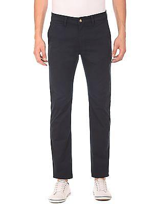 Nautica Slim Fit Flat Front Pants