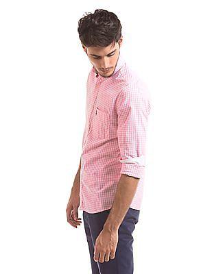 U.S. Polo Assn. Tailored Fit Gingham Shirt
