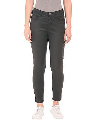 EdHardy Women High Rise Cropped Jeans