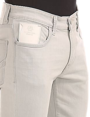 U.S. Polo Assn. Denim Co. Slim Tapered Fit Cotton Stretch Jeans