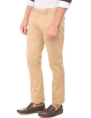 Ruggers Solid Tapered Fit Trousers