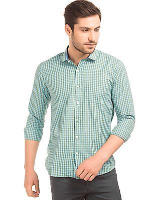 Excalibur Checked Slim Fit Shirt