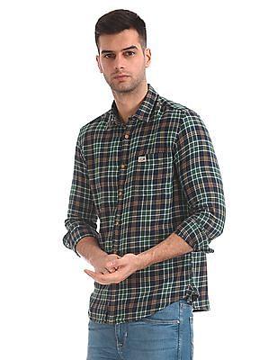 U.S. Polo Assn. Denim Co. Slim Fit Spread Collar Shirt