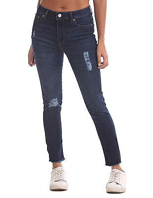 Aeropostale Jegging Fit Ankle Length Jeans