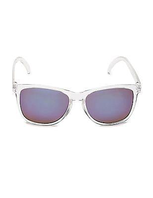 Aeropostale Rectangular Frame Mirrored Sunglasses