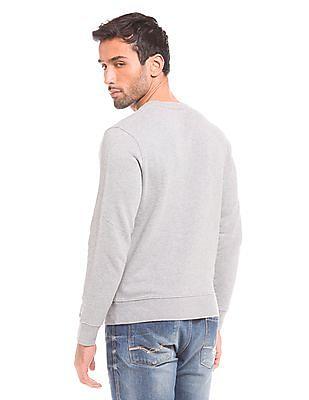 Gant Flag Print Regular Fit Sweatshirt