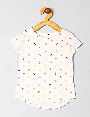 GAP Baby Short Sleeve Printed Tunic