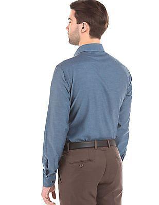 Arrow Newyork Slim Fit French Placket Shirt