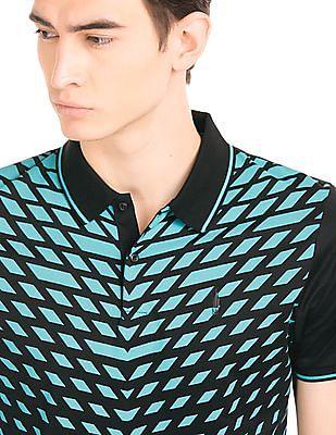 Arrow Newyork Geometric Print Polo Shirt