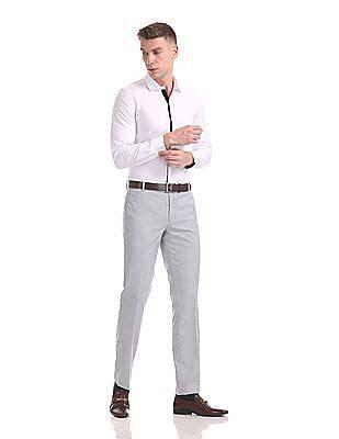 Excalibur Super Slim Fit Patterned Shirt