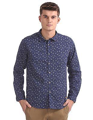 Cherokee Linen Printed Shirt