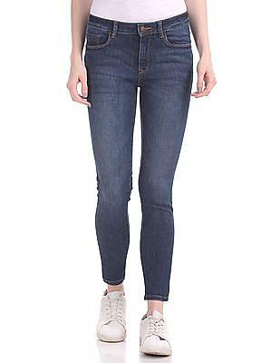 60d5e61cada3 Buy Womens FWESJN1358 Dk.Indigo Womens Jeans online at NNNOW.com