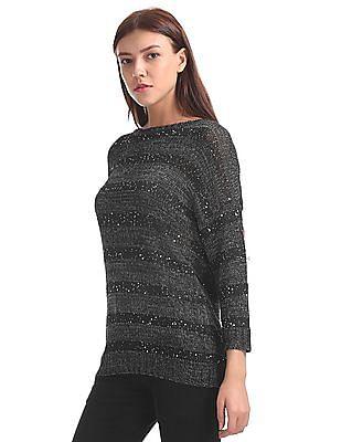 Arrow Woman Embellished Sweater Top