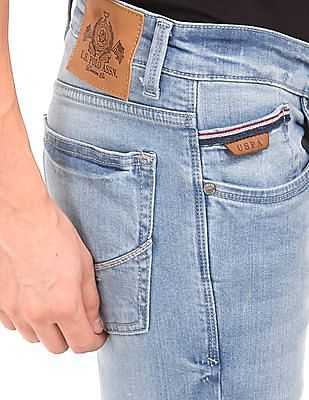 U.S. Polo Assn. Denim Co. Light Wash Skinny Fit Jeans