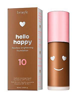 Benefit Cosmetics Hello Happy Flawless Liquid Foundation - Shade 10