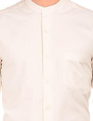 Arrow Mandarin Collar Regular Fit Shirt