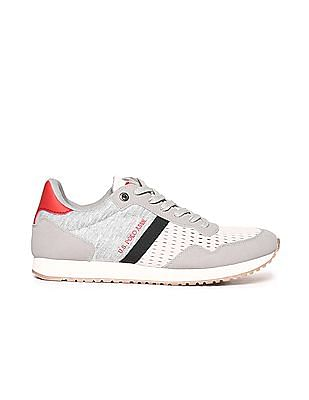 U.S. Polo Assn. Contrast Sole Perforated Sneakers