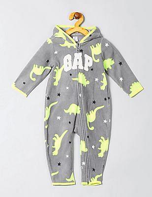 GAP Baby Printed Fleece Bodysuit