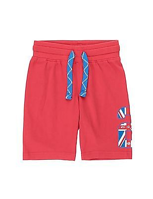U.S. Polo Assn. Kids Boys Solid Knit Shorts