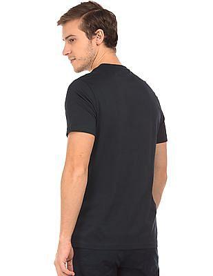 Nautica Graphic Print Crew Neck T-Shirt