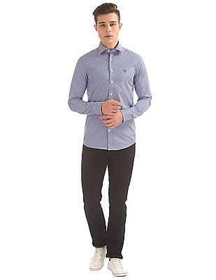 Gant Contrast Pattern Gingham Shirt