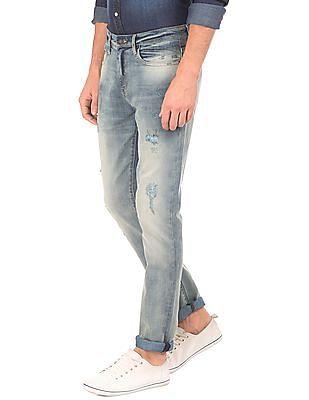 Aeropostale Washed Super Skinny Jeans