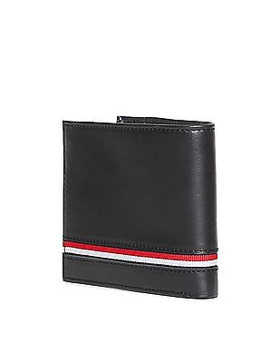 U.S. Polo Assn. Contrast Trim Leather Wallet