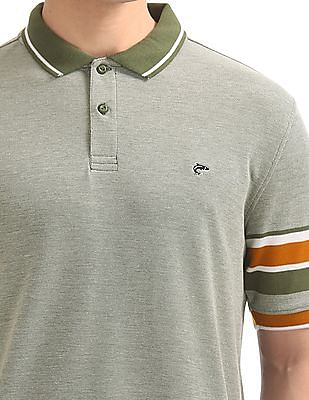 Ruggers Heathered Regular Fit Polo Shirt