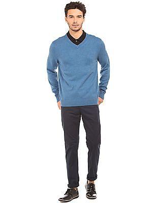 Nautica Regular Fit V-Neck Sweater