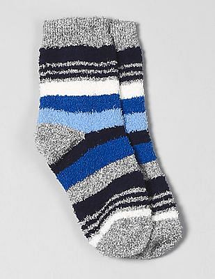 GAP Boys Cozy Crazy Stripe Socks