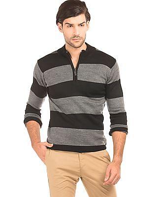 Ruggers Striped Regular Fit Sweater