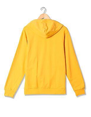 Izod Printed Hooded Sweatshirt