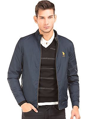 U.S. Polo Assn. Reversible Leather Jacket