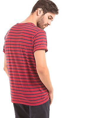 Gant Regular Fit Striped T-Shirt