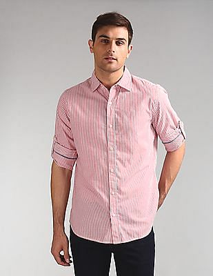 GAP Vertical Stripe Poplin Shirt