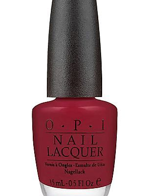 O.P.I Nail Lacquer - Got the Blues for Red